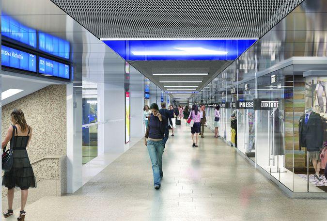 Dworzec kolejowy Warszawa Centralna: modernizacja