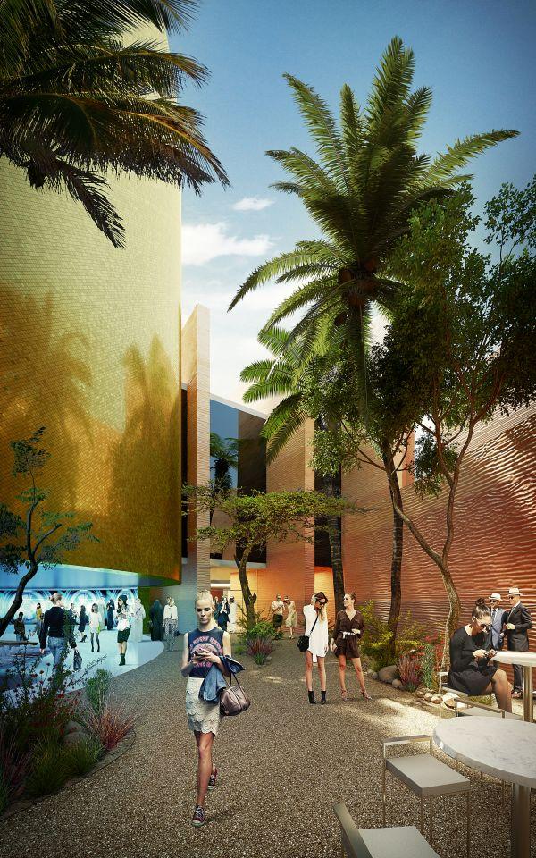 Pawilon wystawowy Expo 2015, Foster + Partners