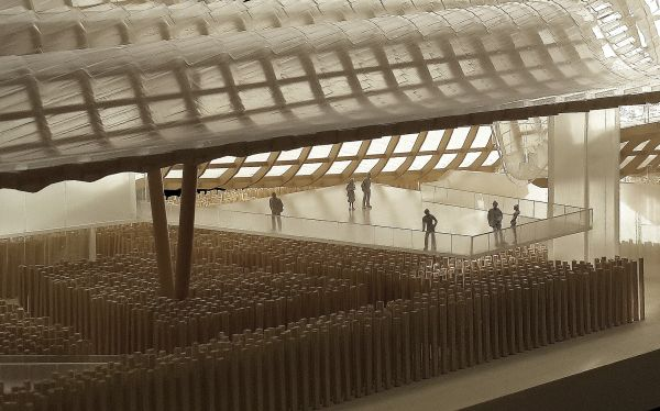 Pawilon wystawowy, architektura Chin, Expo 2015