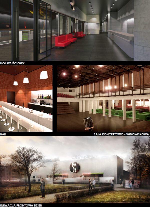 Jasa Stożek Architekci, Klub Studio Kraków