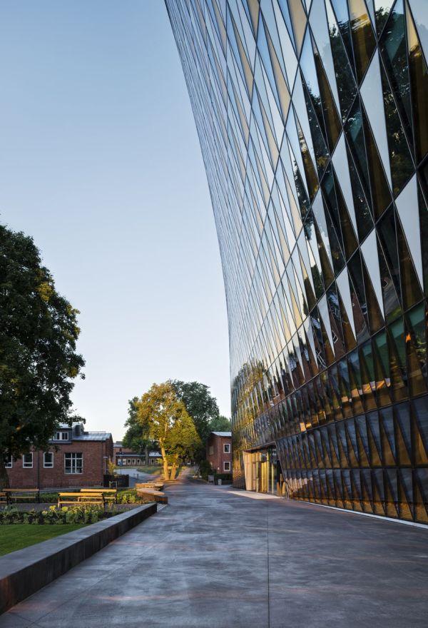 Aula Instytutu Karolinska, architektura skandynawska