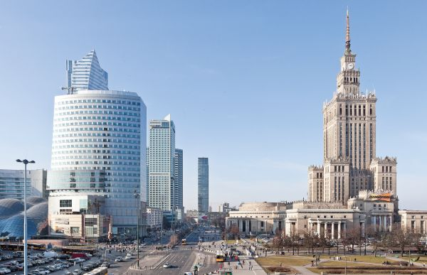 Cosmopolitan Warszawa, warszawskie wieżowce, Helmut Jahn