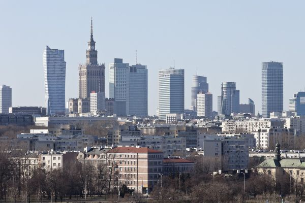 Panorama Warszawy, wieżowce Warszawy