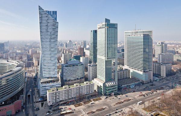 Apartamentowiec Złota 44, warszawskie wieżowce, Daniel Libeskind