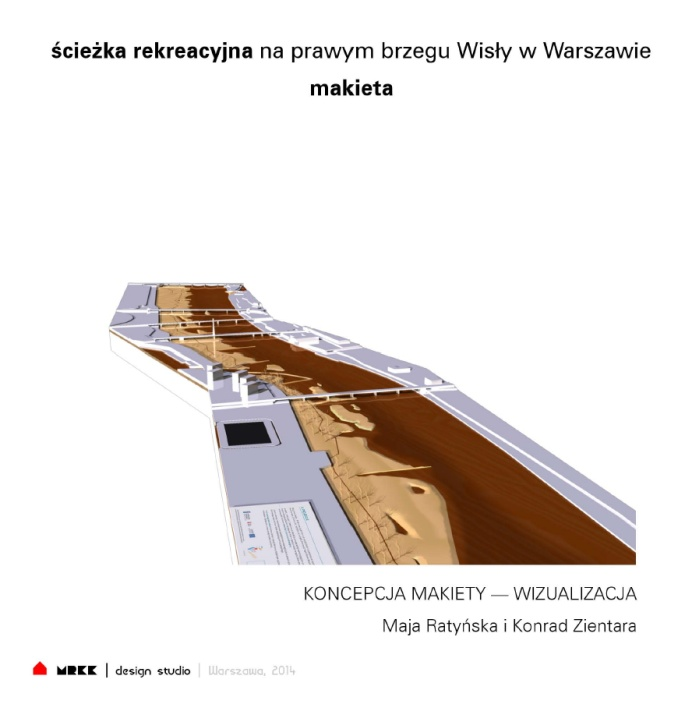 Ścieżka nad Wisłą, MRKK Maja Ratyńska i Konrad Zientara