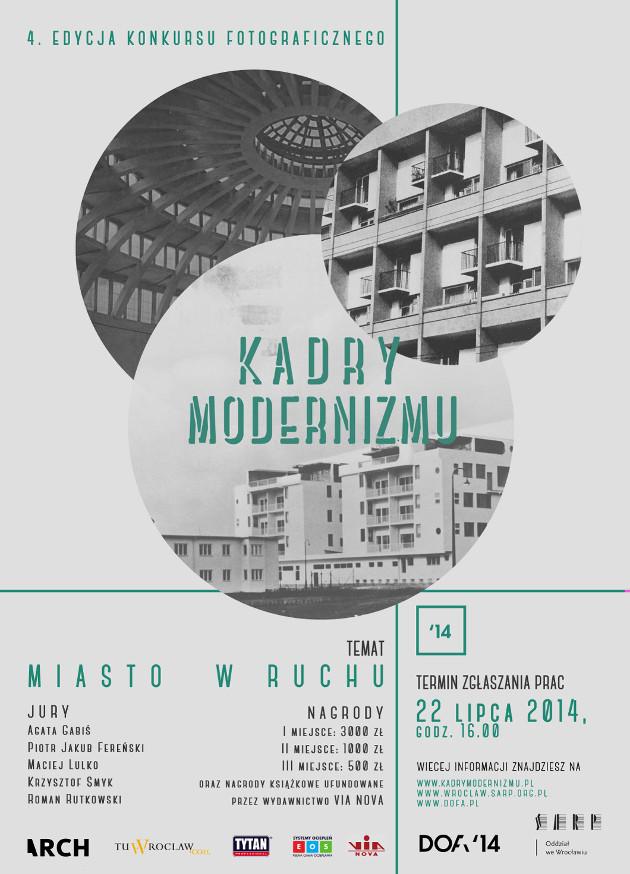 Konkurs fotograficzny kadry modernizmu