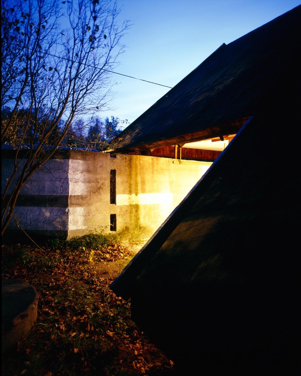 Oskar i Zofia Hansen, dom w Szuminie