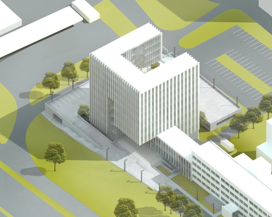 Sąd rejonowy Katowice Wschód, architektura Katowic