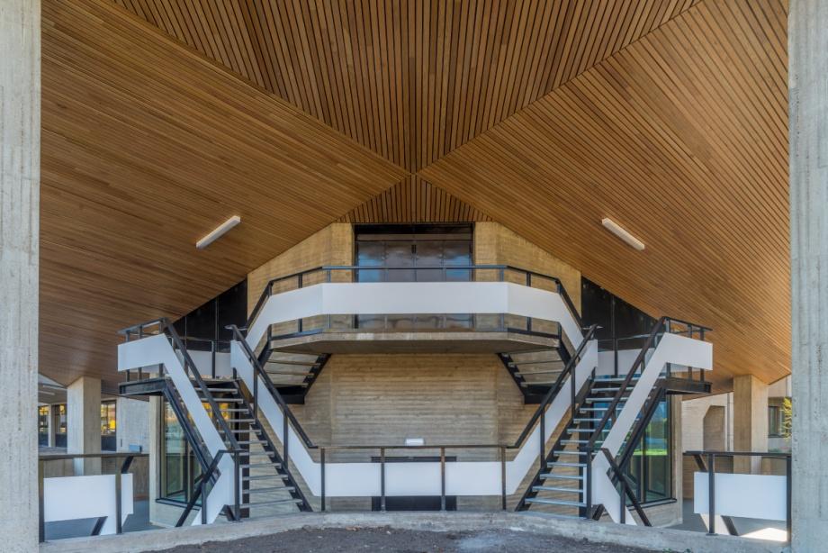 Współczesna architektura Holandii, budynek uniwersytetu