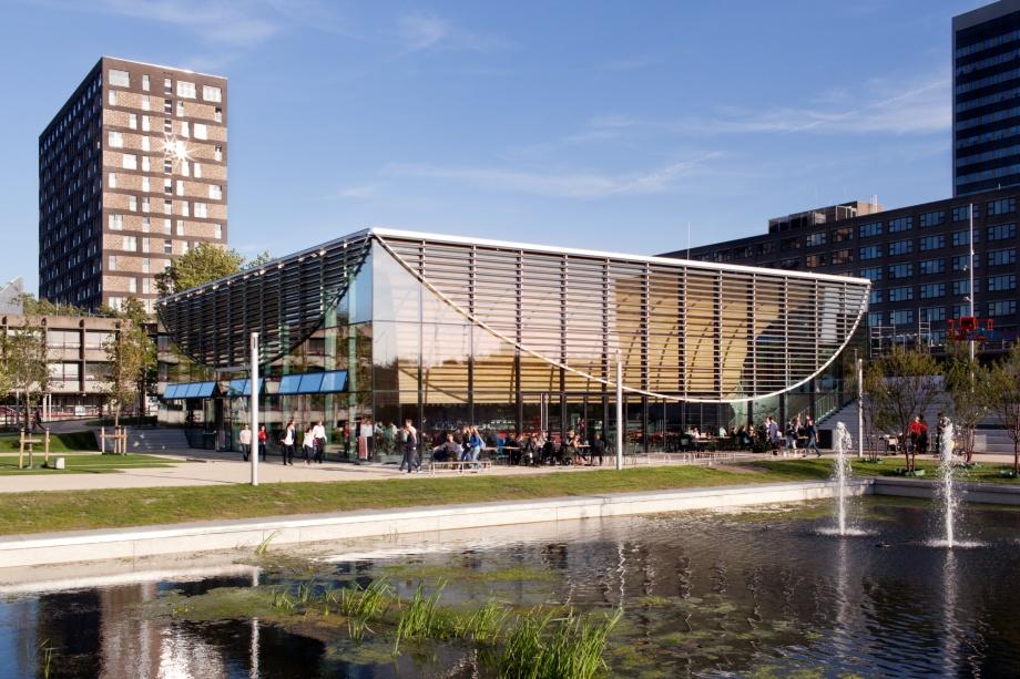 Współczesna architektura Holandii, Uniwersytet Erazma