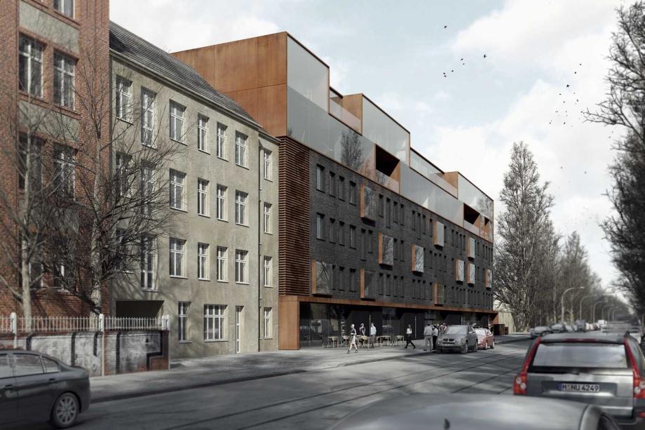 architektura berlina, nadbudowa kamienicy