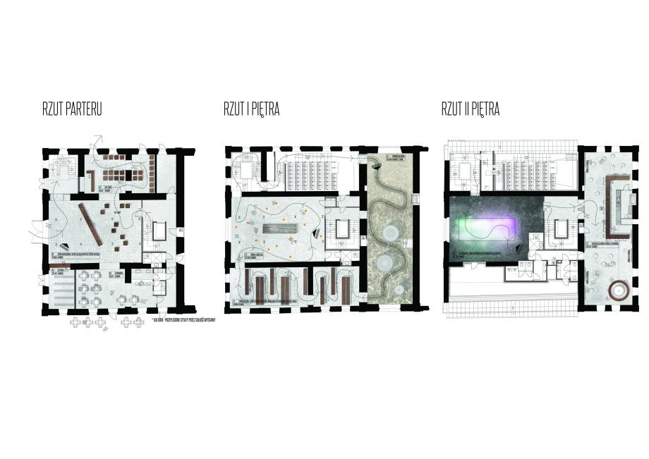 Architektura wnętrz Muzeum Polskiej wódki