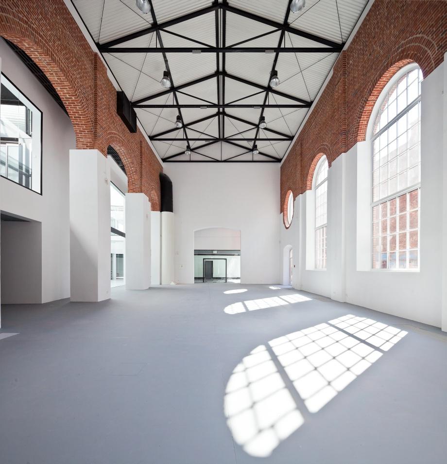 architektura wnętrz Centrum Sztuki Współczesnej Elektrownia w Radomiu