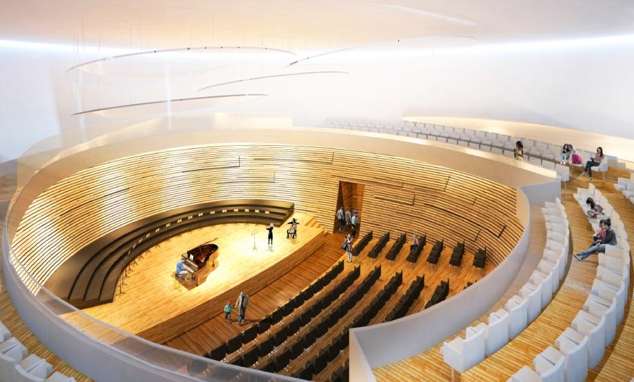 Szkoła muzyczna Poznań, sala koncertowa