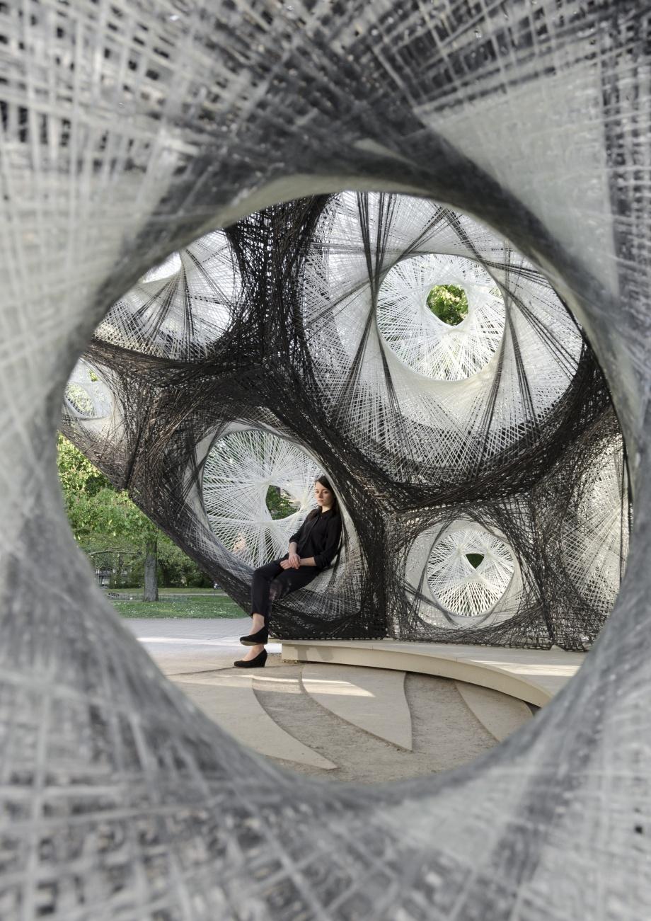 Eksperymentalny pawilon, współczesna architektura