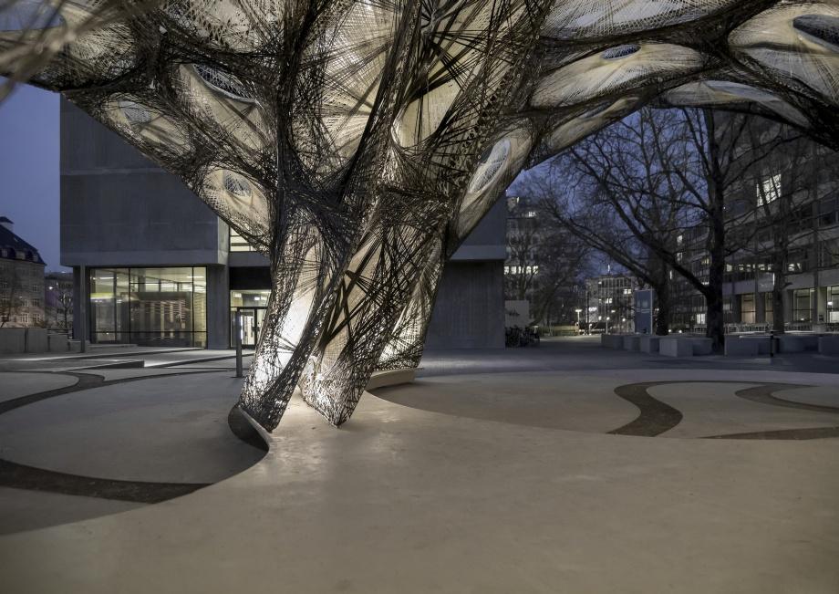 Tymczasowy pawilon, przestrzeń publiczna