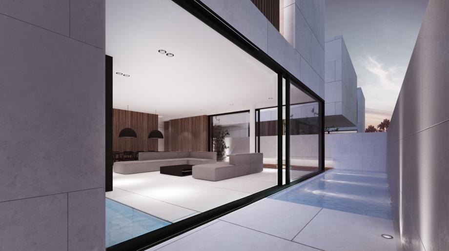 Moomoo architects, salon