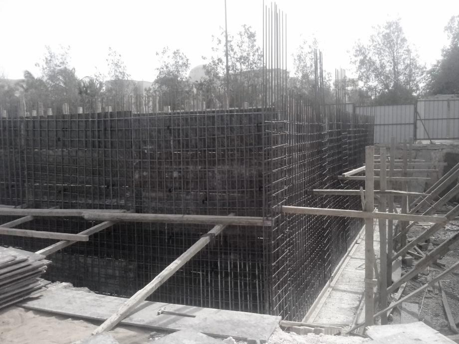Zdjęcia z budowy, osiedle mieszkaniowe