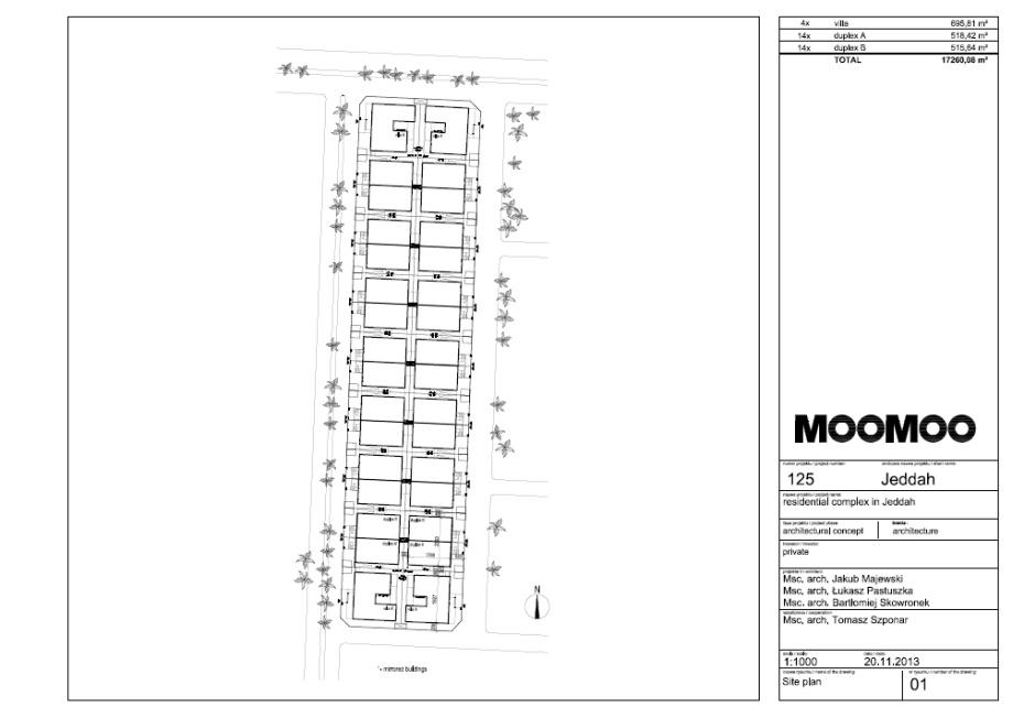Moomoo architects, rzut