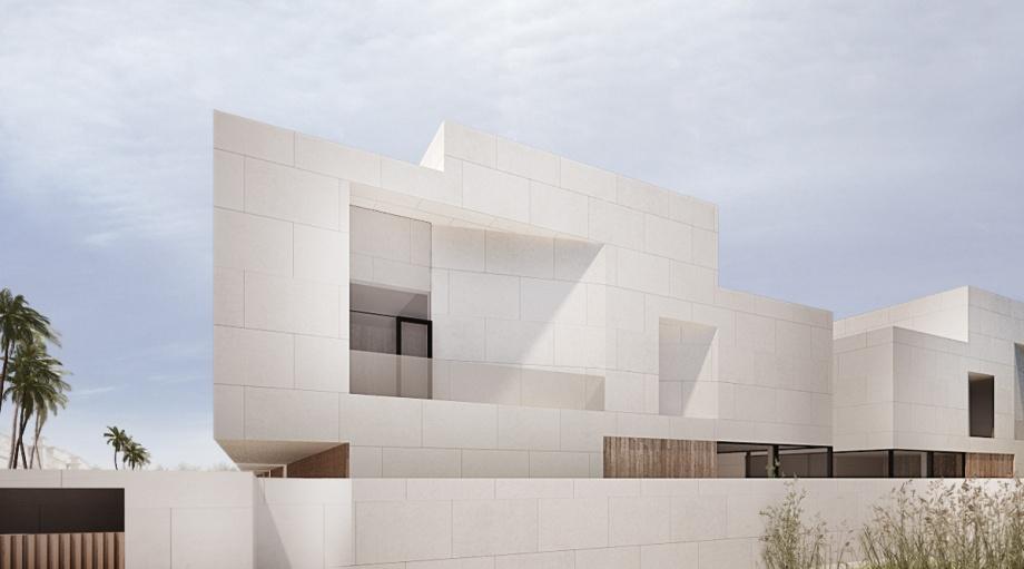 Moomoo architects, kompleks budynków mieszkalnych