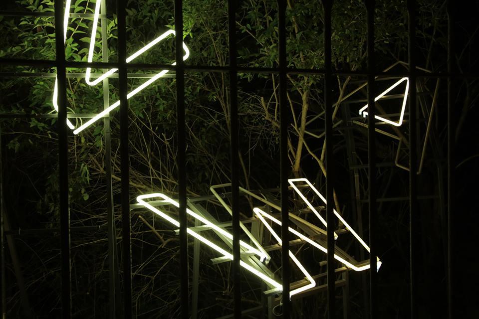 Warszawa, wystawa neonów