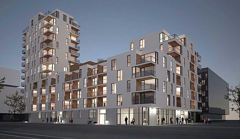 Budynek apartamentowy, Malmö Live