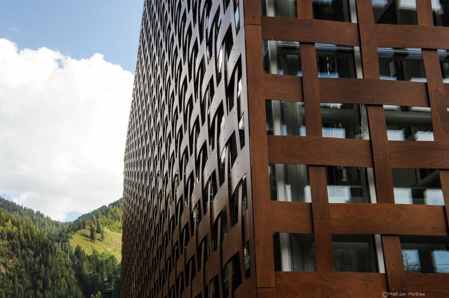fasada Muzeum Sztuki w Aspen