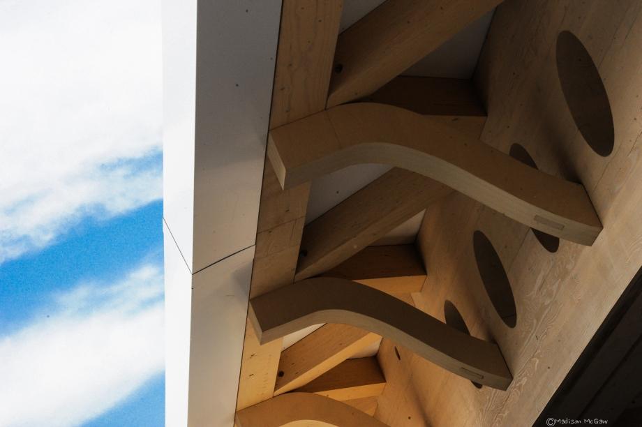 konstrukcja dachowa Muzeum Sztuki w Aspen