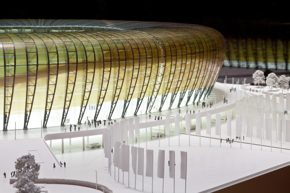 Makieta stadionu PGE Arena w Gdańsku