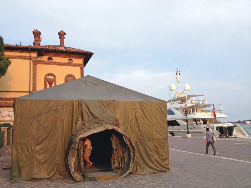 Biennale Wenecja Pawilon Ukrainy