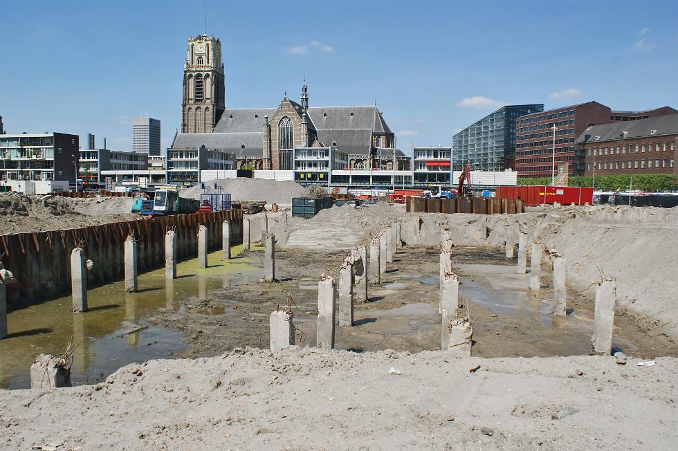 Hala targowa w Rotterdamie