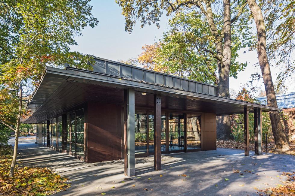 Nowa Herbaciarnia W łazienkach Architektura Murator