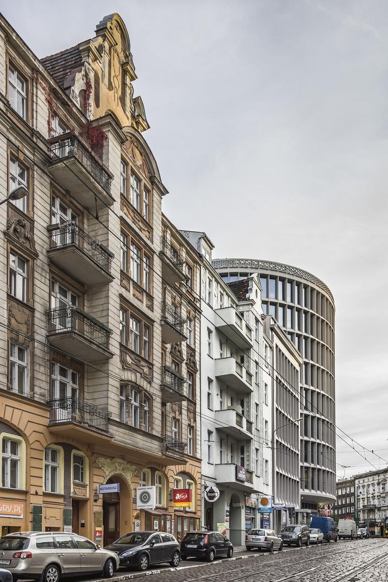 Modernizacja okrąglaka w Poznaniu