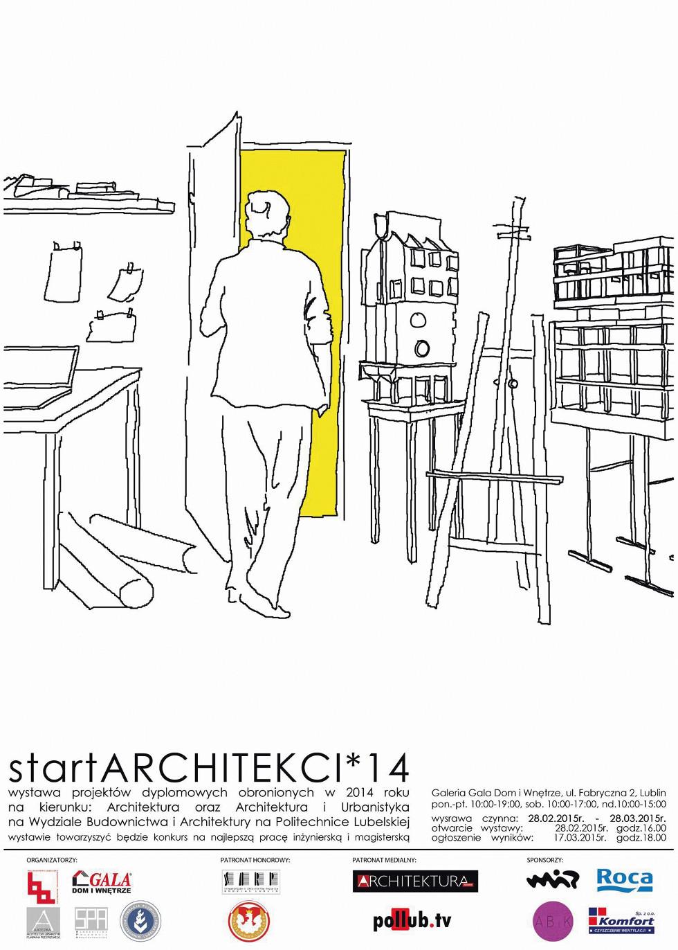 Wystawa Startarchitekci '15