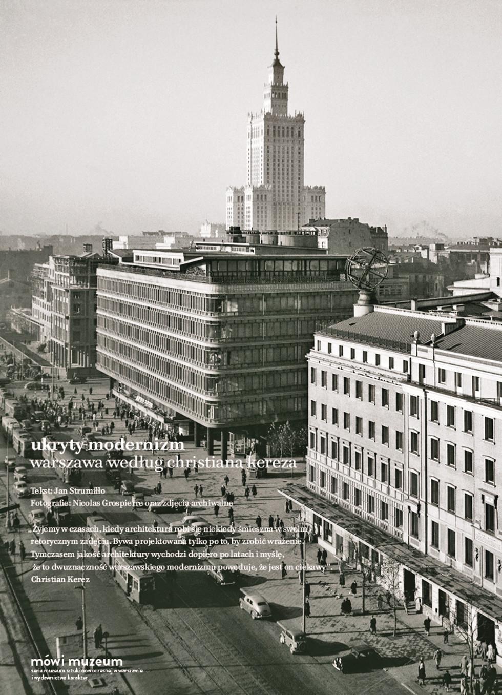Jan Strumiłło, Ukryty modernizm. Warszawa według Christiana Kereza