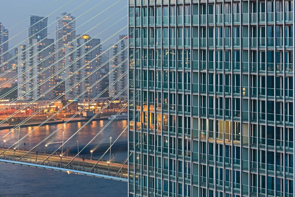 Wieżowiec DE Rotterdam