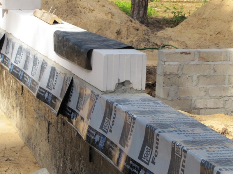 Izolacja pozioma ściany fundamentowej icopal