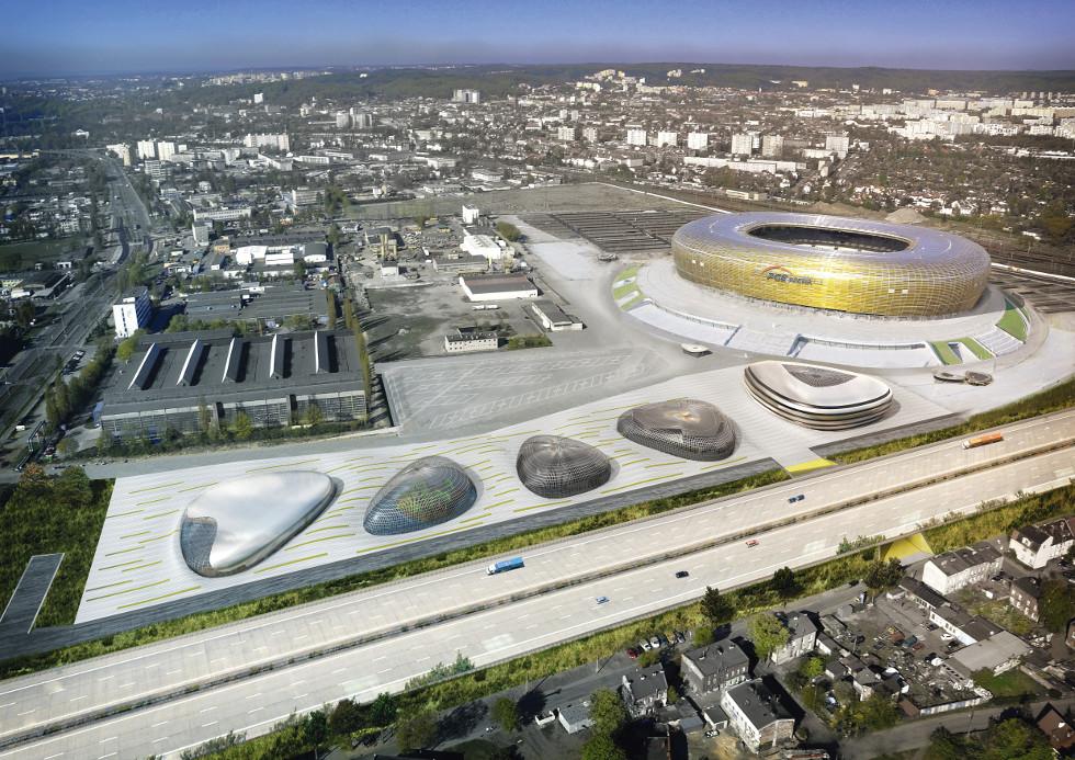 Wielofunkcyjny kompleks przy PGE Arena Gdańsk