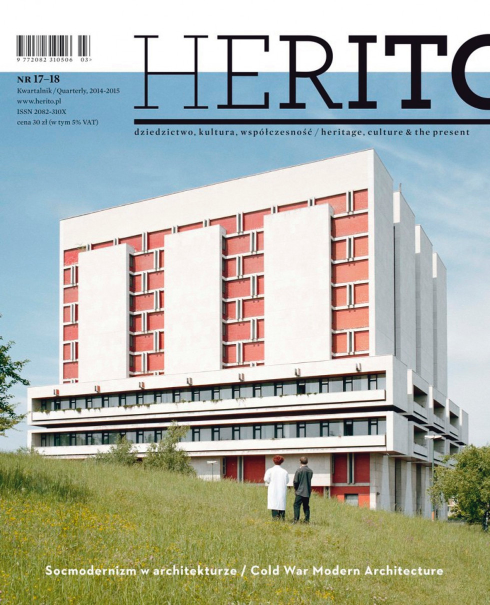 Kwartalnik Herito, wyd. Międzynarodowe Centrum Kultury