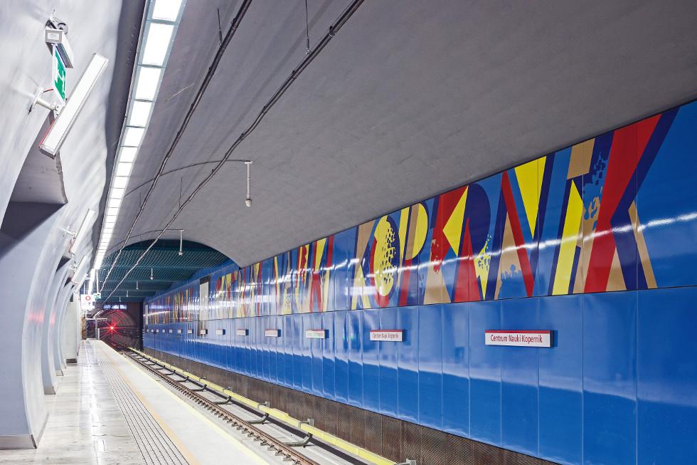Druga linia metra w Warszawie