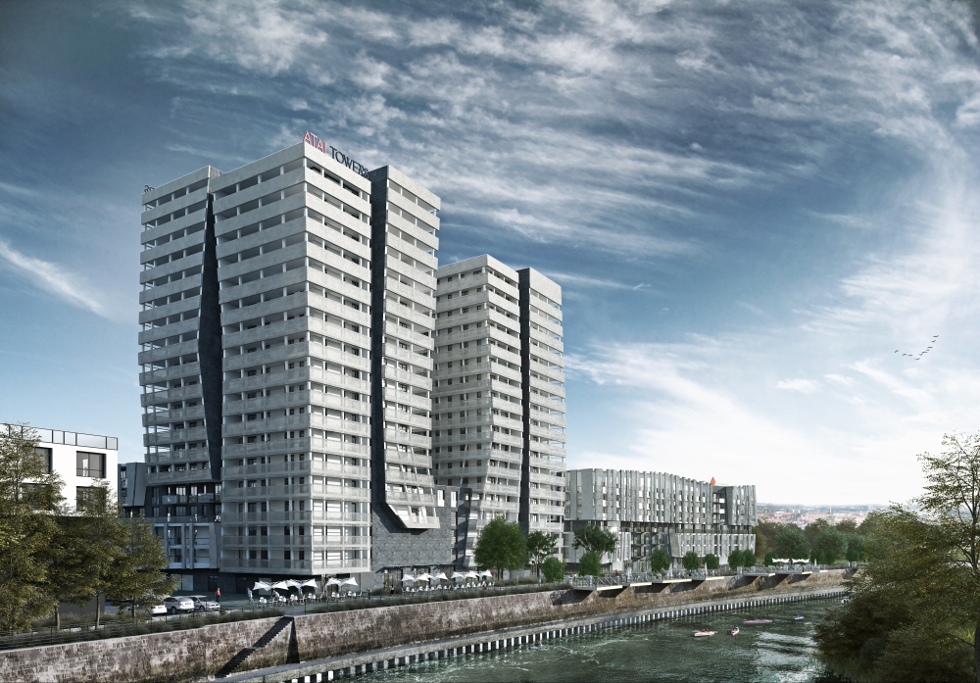 Atal Towers we Wrocławiu