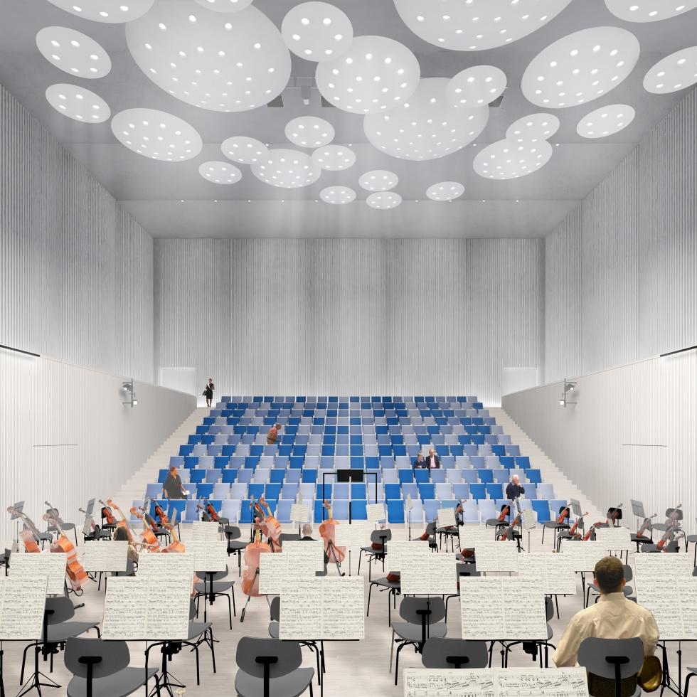 Sala koncertowa w Rybniku