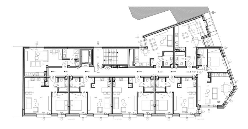 Budynek mieszkalno-uslugowy w Poznaniu