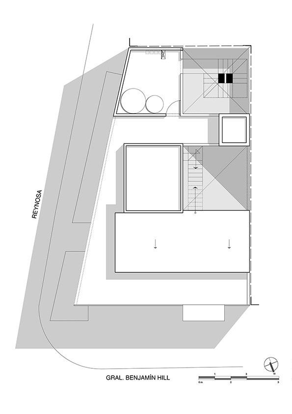 Budynek mieszkalny w Meksyku