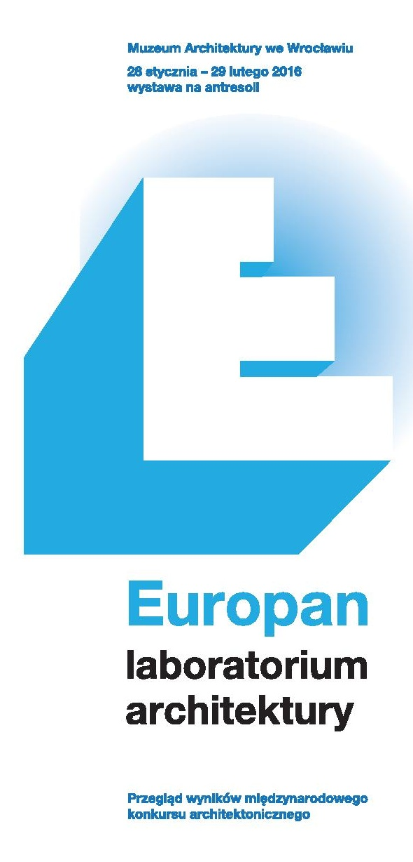 Europan - laboratorium architektury