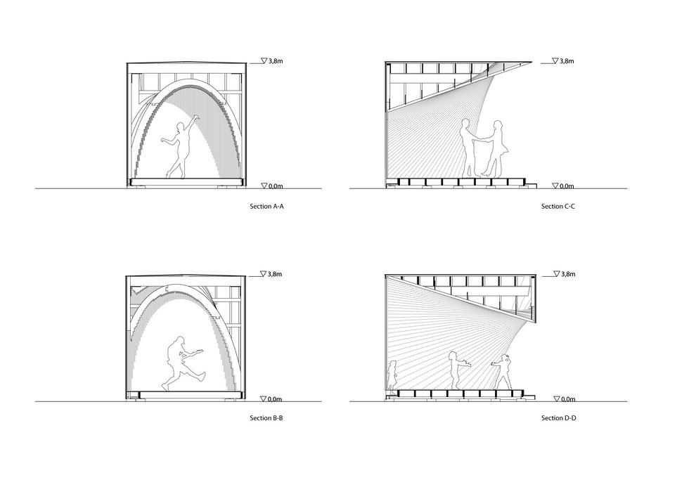 Projektowanie parametryczne i drewno - tymczasowy pawilon Pauhu