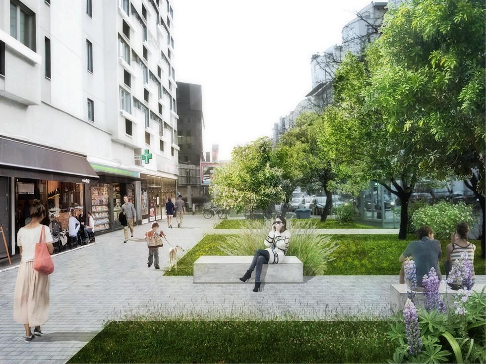 Sen o Towarowej - 6 pomysłów na przekształcenie jednej z głównych ulic Woli
