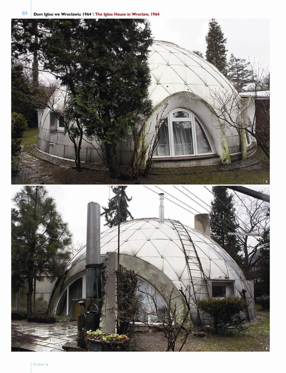 Dom igloo we Wrocławiu 1964