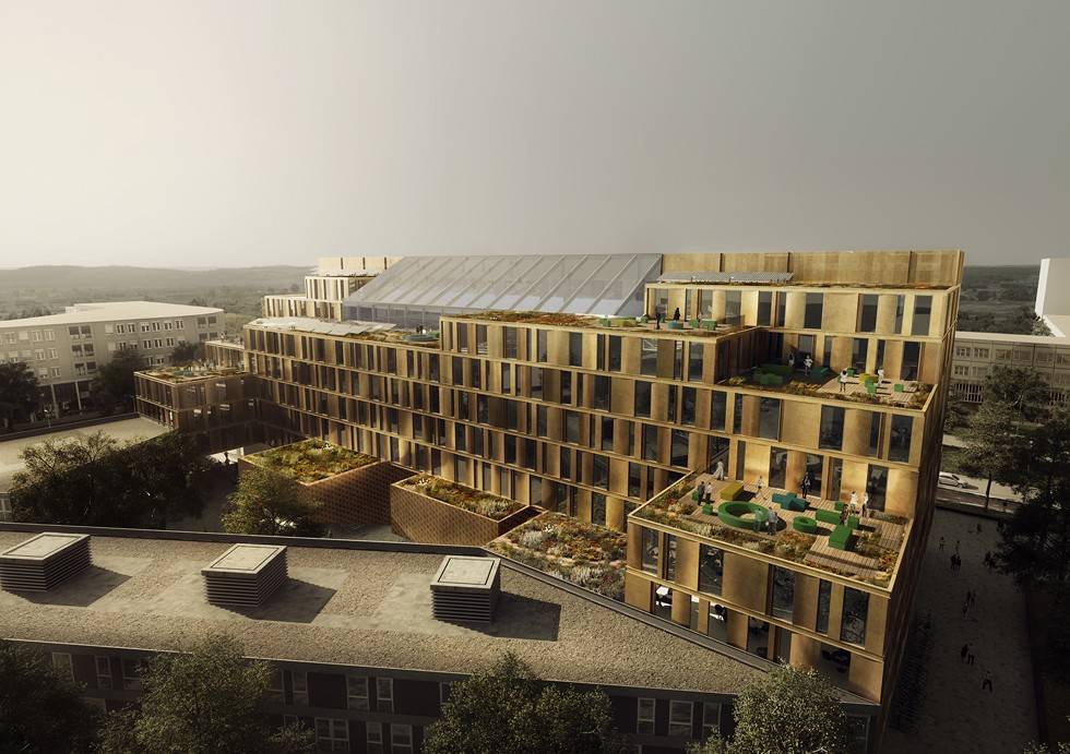 Rozbudowa Uniwersytetu Nauk Stosowanych w Utrechcie