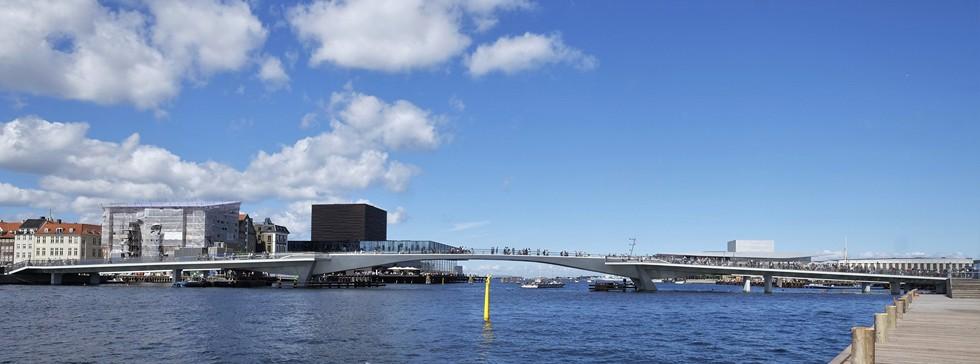 Nowy most w kopenhaskim porcie